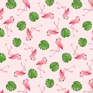 Creastelle-pattern-x12-Flamingo-tropical-glitter
